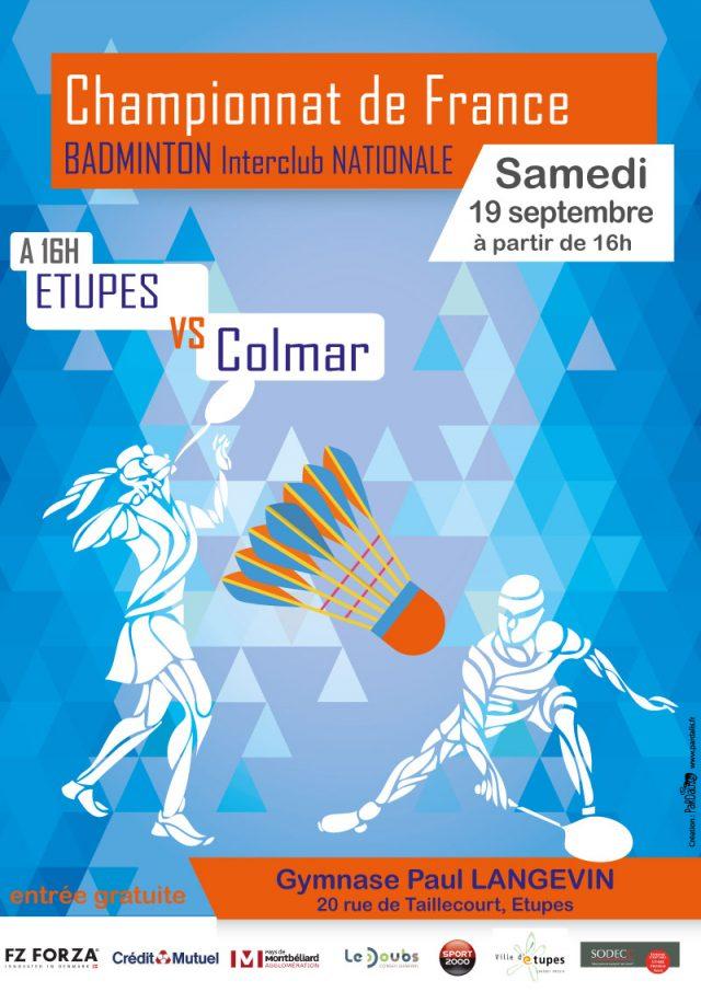 Championnat de France par équipes de Badminton en Nationale 3